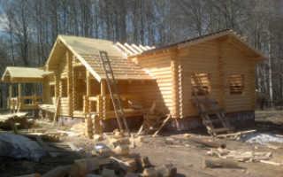 Особенности конструкции крыши деревянного дома