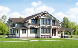 Защита антисептиком деревянного дома