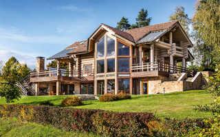 Строим дом из оцилиндрованного бревна