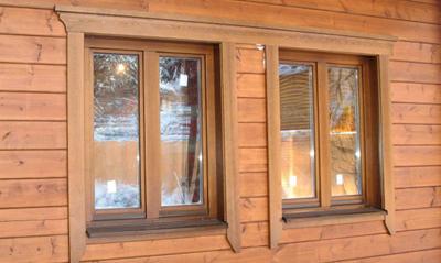 Наличники на окна с небольшой фаской