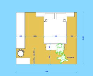 Спальная с туалетным столиком