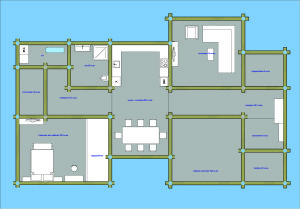 Планировка мебели в проекте