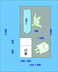 Размеры для хозяйственного помещения