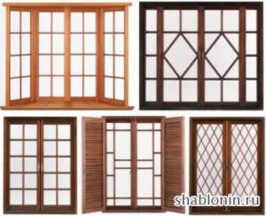 Окна с французской раскладкой стекла