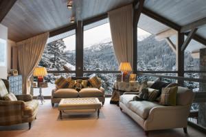 Панорамное Панорамное окно в деревянном доме