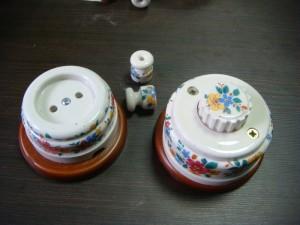 Керамические розетки и выключатели
