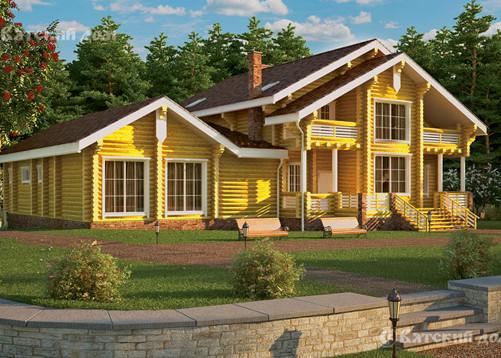 Деревянный дом в традициях русской усадьбы