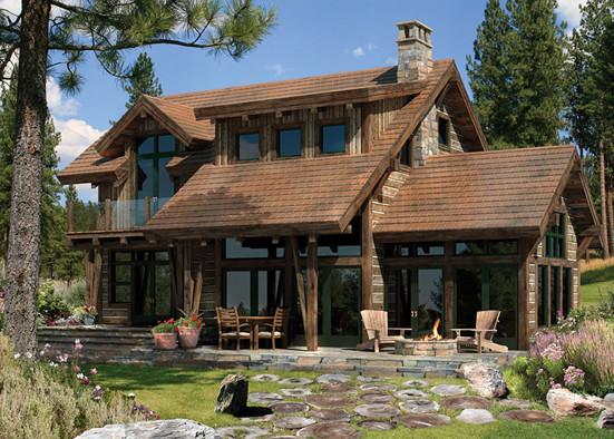 Принцип нюанса в решении внешнего облика дома